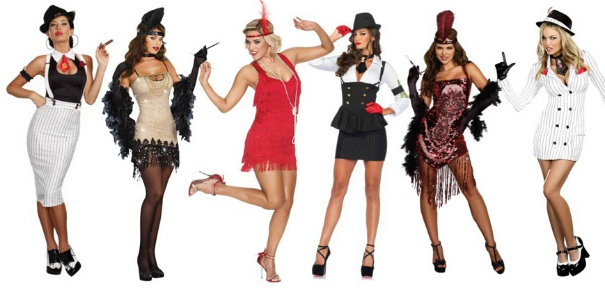 Women in Great Gatsby Costumes